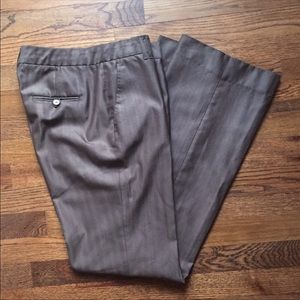 Zara wool-silk blend pants, limited edition